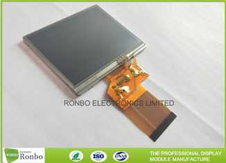 320 * 240 Resolution 3.5 Inch Lcd Display Touch Screen 300cd / M² Brightness