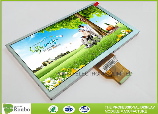High Brightness 8.0 Inch TFT LCD Display Panel 800 x 480 RGB 50 Pin Replace AT080TN64